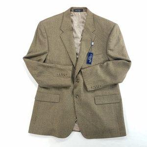 Chaps Sports Coat Blazer Jacket Pure Lambswool